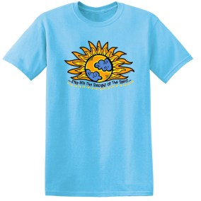 Step Into The Sunlight of the Spirit Sky Tee Shirt