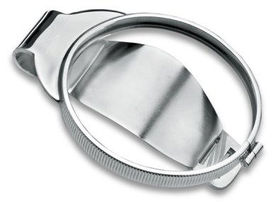Silver Medallion Holder Moneyclip