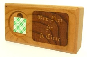 one-day-at-a-time-4-inch-wood-display-medallion-holder