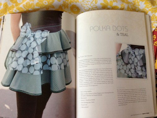 Polka Dots & Teal 2 pages