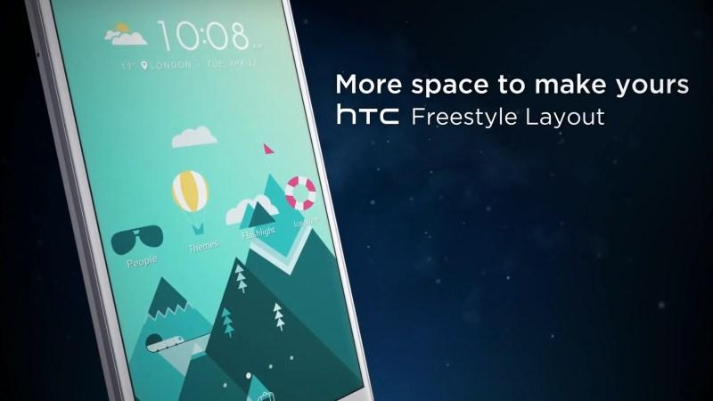 HTC 10 Freestyle Layout