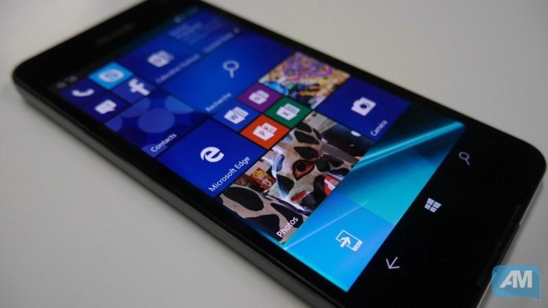 Microsoft Lumia 650 Ecran