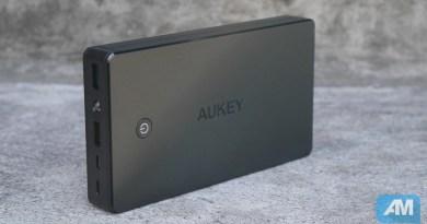 Test : Batterie Externe 20 000 mAh Aukey PB-N36