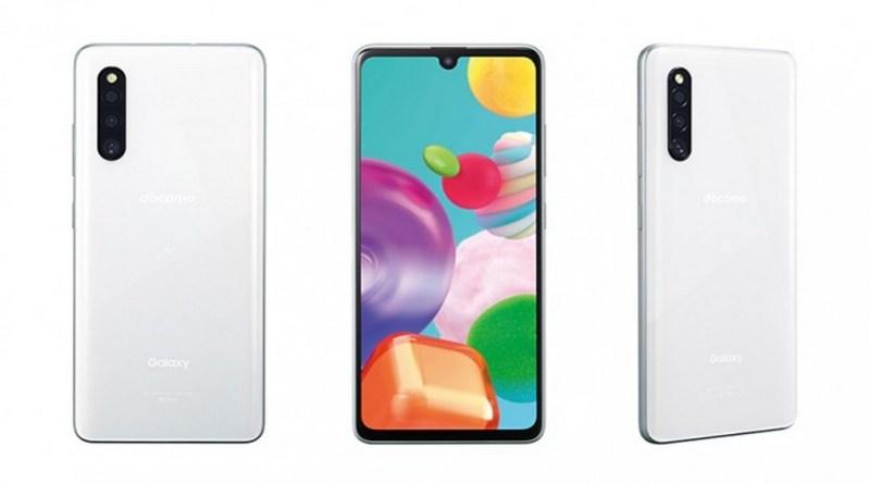 Samsung Galaxy A41 Blanc