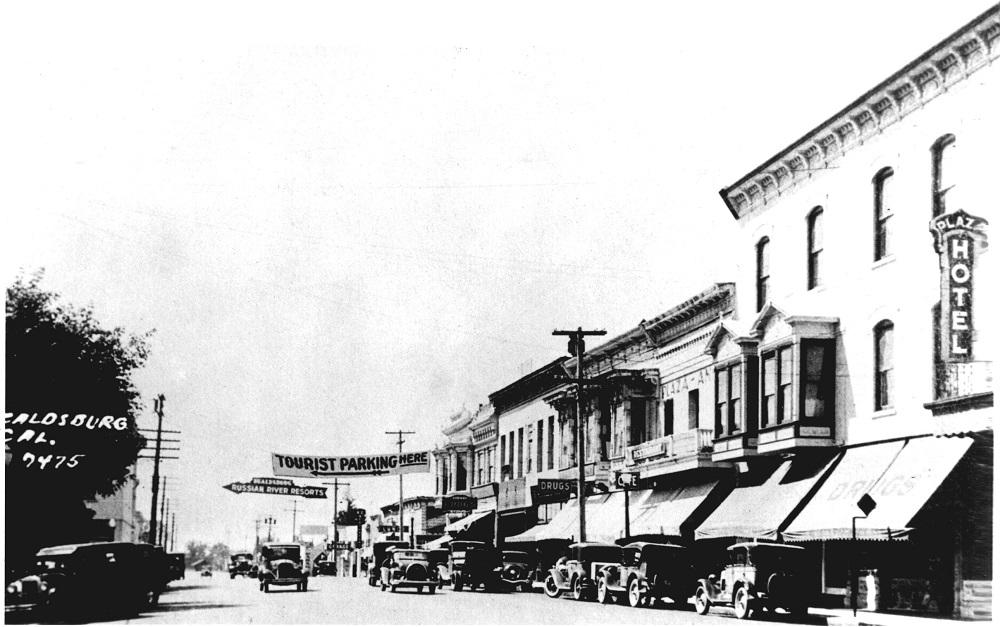 Old Healdsburg Ave