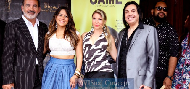 The Game Press Conference – The 4th Annual Dominican Film Festival 2015