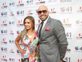 Alex Hermosa Andrea Owadally, TV Hosts NBC Latino