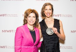 Commissioner Julie Menin & Alysia Reiner with Made in NY Award