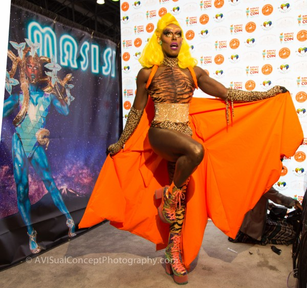 Masisi at RuPaul's DragCon 2018
