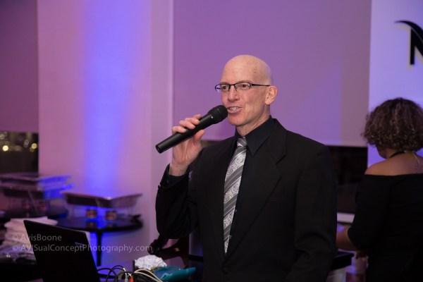 Peter Trewin, Event's DJ
