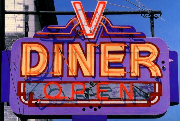 Diner Signs Visual Journal