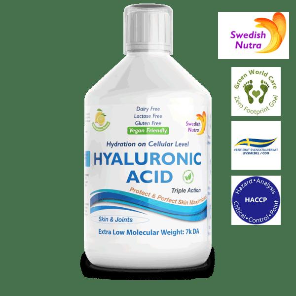 Hyaluronsäure 500 ml - Swedish Nutra