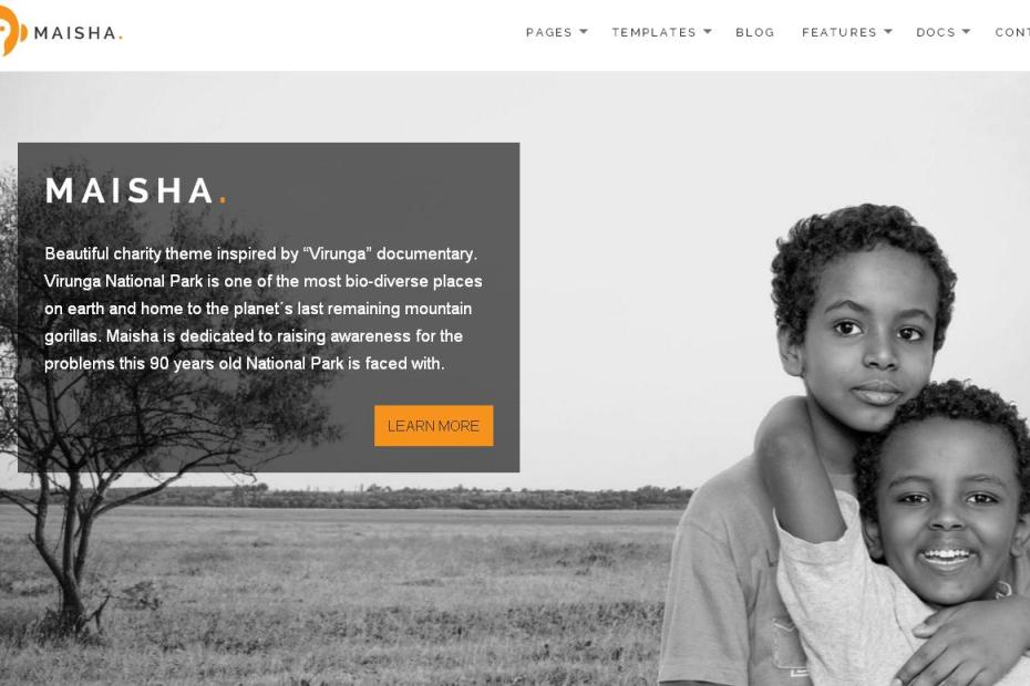 Website for nonprofits