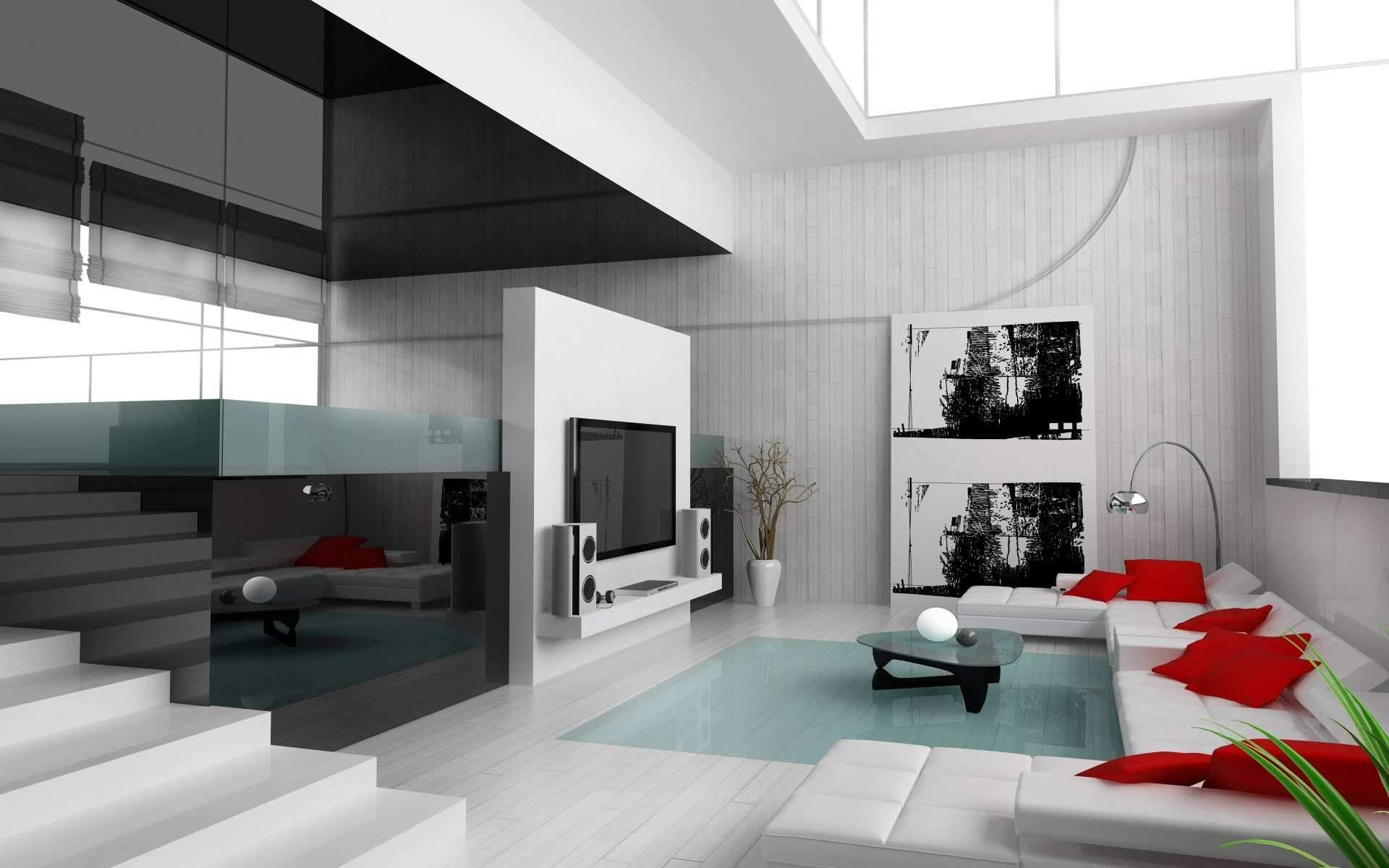 Décoration D\'intérieur Maison Contemporaine