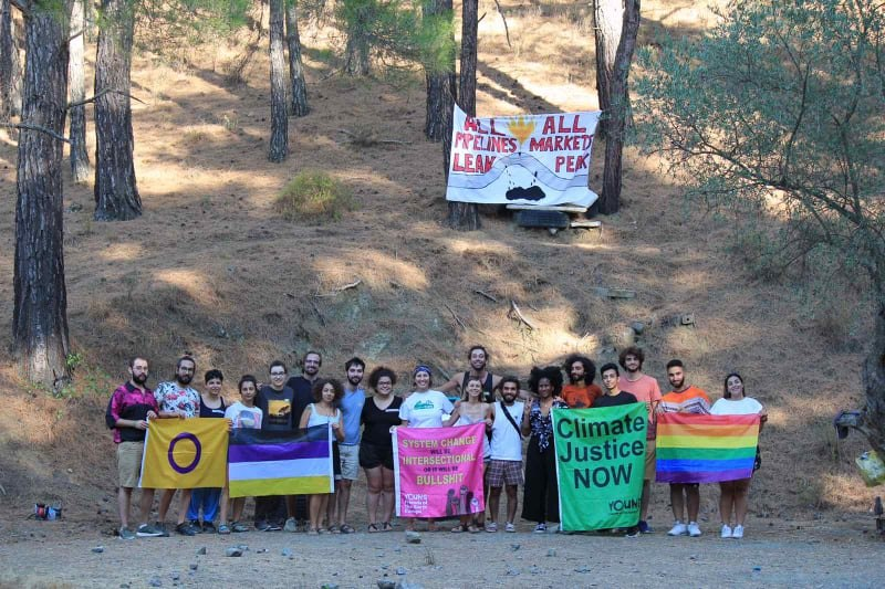 Picture of summer camp on intersectionality participants