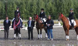 Vinnere av 5-årsfinalen på Nes (foto: Eva Kindahl).