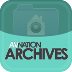 Logo for the AVNation Archives