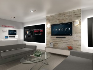 Control4 - Certified Showroom living room