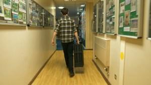 JBL EON One Pro Bristol hallway