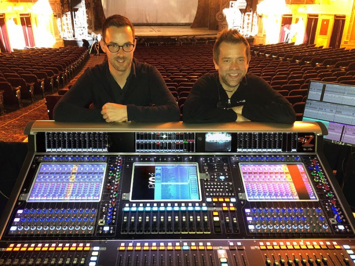 """DiGiCo's Quantum 7T console goes on a """"Wicked"""" tour"""