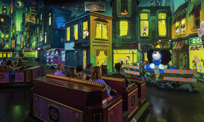 Panasonic drives immersive ride-through attraction featuring Mickey Mouse and Friends