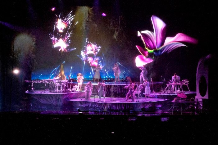Bjork brings theatrical 'Cornucopia' experience to life with Shure TwinPlex