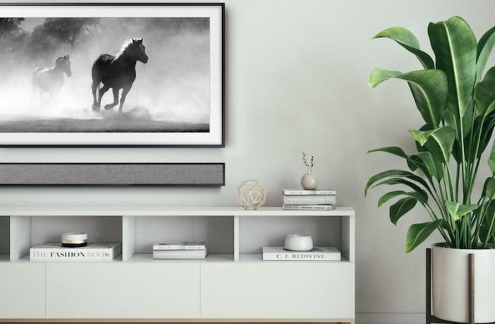 Leon unveils FrameBar soundbar to match Samsung's The Frame TV