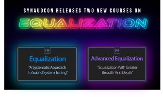 SynAudCon offers two new online training courses