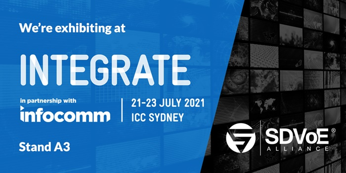SDVoE Alliance at Integrate 2021