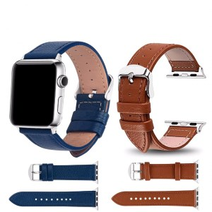 Classy Leather Watchbands for Apple Watch