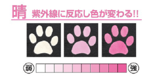 UV-indicator Paws
