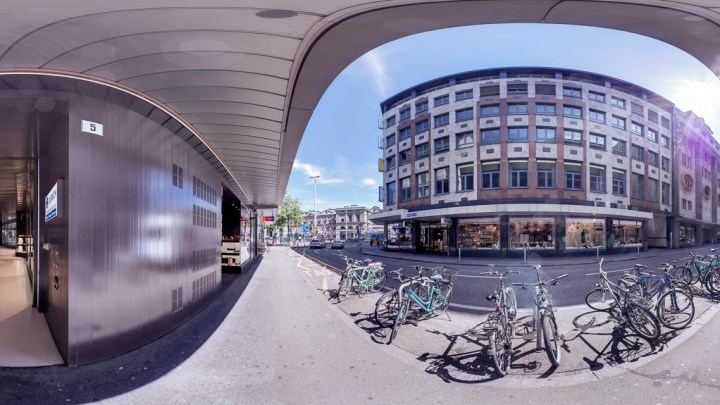 Photo: Urs Wyss by avocado360. The modern new renovaited GfK office at the Stadthof,  Zürich, Switzerland, made by avocado360