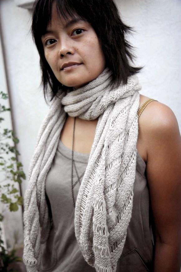 the clapotis as a scarf