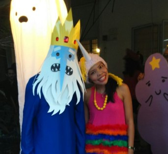 Ice King and Lady Rainicorn