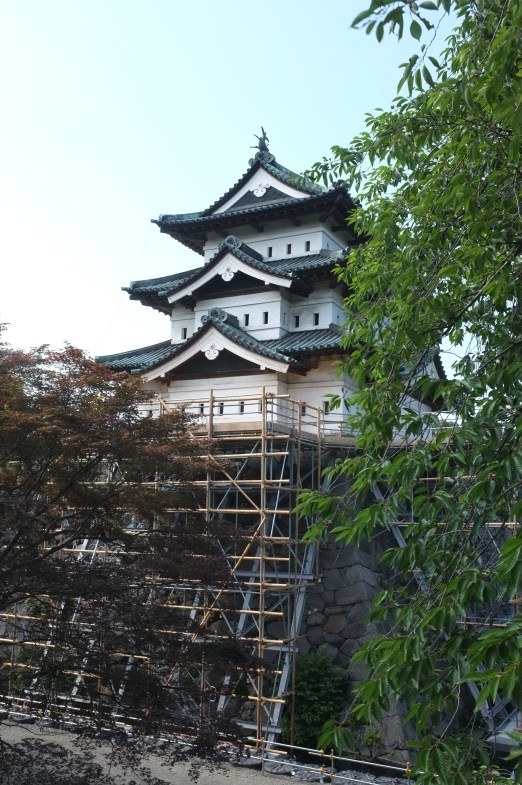 at Hirosaki castle
