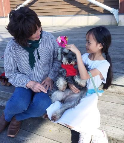 with Mama Yuu-chan