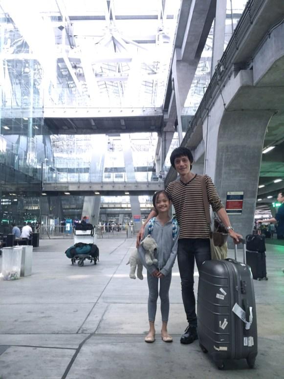 at Bangkok Airport