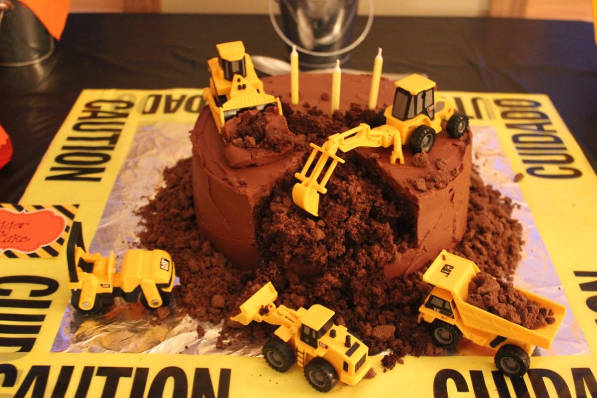A Birthday Boy S Dream Digger Cake Gluten Free Lenay