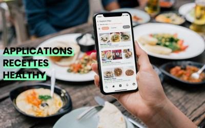 Applications de recettes healthy : notre sélection
