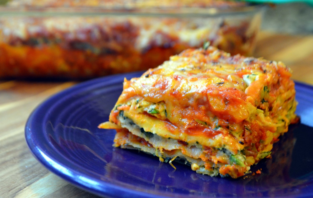 Vegetable Lasagna with Cashew Ricotta  Avocados and Ales