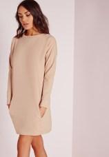 pocket jumper dress