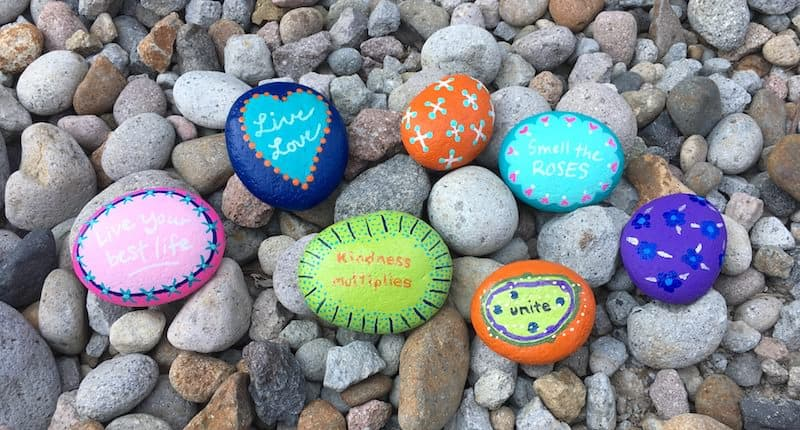 painted rocks how to