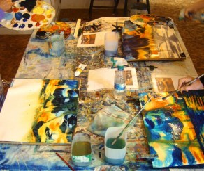 Avoca Painting School - Studio Work