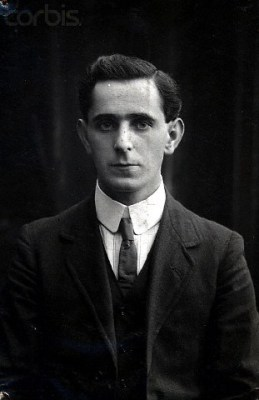 Seán Mac Diarmada photographic portrait