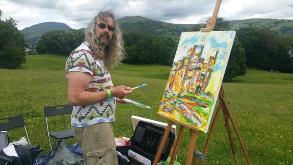 David Jewkes takes an uninhibited palette to the castle.