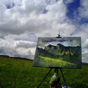 2016 Sky Arts Rod Coyne painting #2