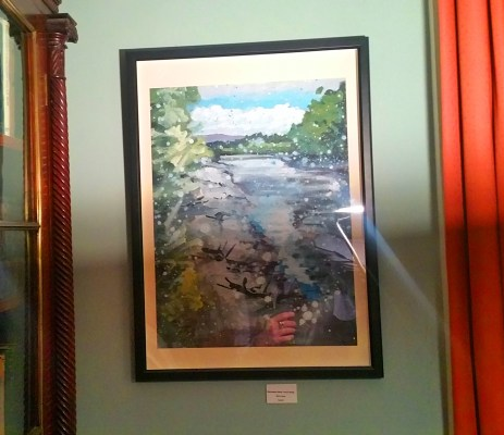 Rod Coyne's River Blackwater hangs in the Tourin House, the home of Irish Whiskey.