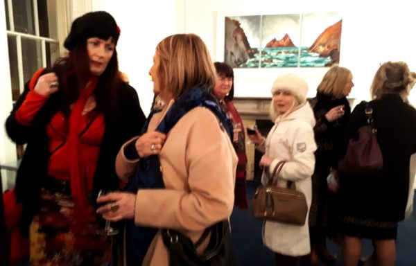 Rod Coyne's new palette caused a stir among his regular collectors during the exhibition launch at the Origin Gallery, Dublin.