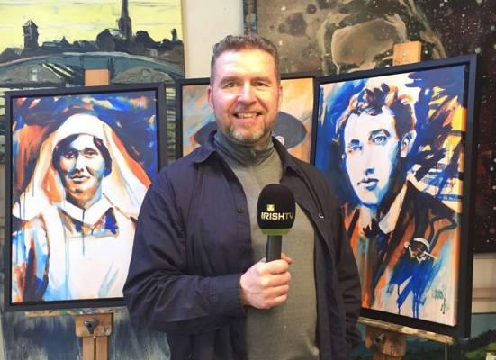 1916 Revolution - Rod Coyne on Irish TV