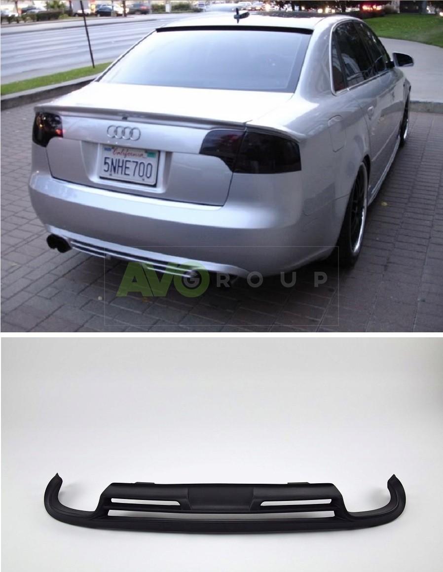 rear bumper diffuser for audi a4 b7 sedan avant 04 08